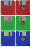 diskettfloppy Arkivbilder