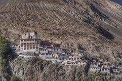 Diskit寺庙Leh Ladahk 图库摄影