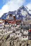 Diskit gompa – Buddhist monastery Royalty Free Stock Photo
