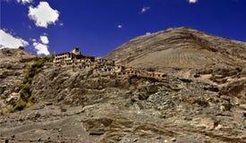 Diskit Kloster Ladakh, Indien Stockbild