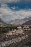 Diskit Monastary Ladakh Royalty Free Stock Photos