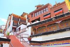 Diskit monaster Leh Ladakh obraz royalty free
