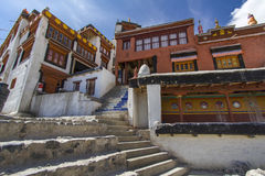Diskit monastery in Ladakh, India Royalty Free Stock Photography
