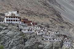 Diskit monastery in Ladakh, India Stock Photo