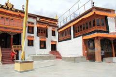 Diskit Monastery Leh Ladakh. Stock Image