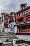 Diskit  monastery. Nubra valley, Ladakh, India Stock Photos