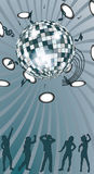 Disko ball. Stock Photo