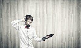 disko dj Arkivfoto