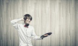 disko dj Arkivfoton