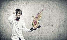 disko dj Royaltyfri Foto