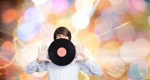 disko dj Royaltyfria Foton