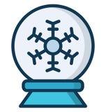 diskobollen, dansboll isolerade vektorsymbolen, som kan lätt ändras eller redigera i någon stildiskoboll, dansboll isolerade Vect royaltyfri illustrationer