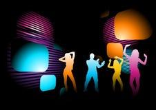 diskodeltagare Arkivbild