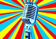 diskomikrofon Fotografering för Bildbyråer