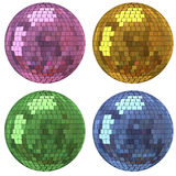 Diskospegelboll Arkivfoton