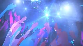 Diskothek, Tanz lizenzfreie abbildung