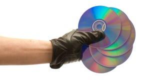 Disks Royalty Free Stock Photos