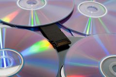 Disks Royalty Free Stock Photo
