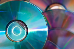Disks Royalty Free Stock Photography