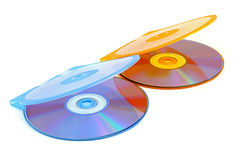 Laser Disks Royalty Free Stock Photography