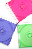 Disks multiciolored Royalty Free Stock Image