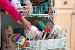 disktvätt Fotografering för Bildbyråer