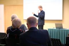 Diskussion über Geschäftsidee Stockfotos
