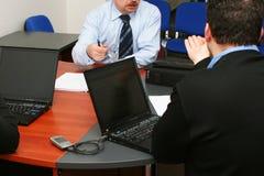 Diskussion auf der Sitzung Lizenzfreie Stockfotos