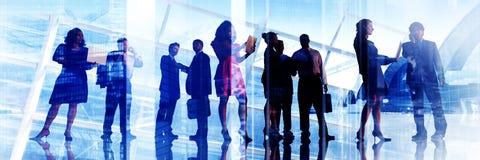 Diskussion för affärsfolk som möter Team Corporate Concept Royaltyfria Foton