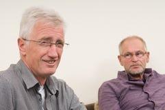 diskutera pensionärer Arkivfoto