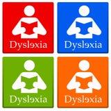 Dislexia Fotografia de Stock Royalty Free