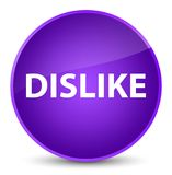 Dislike elegant purple round button Stock Photo