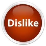 Dislike premium brown round button. Dislike isolated on premium brown round button abstract illustration Royalty Free Stock Photos