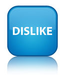 Dislike special cyan blue square button Royalty Free Stock Image