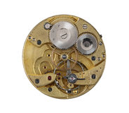 Dismantled clockwork mechanism Royalty Free Stock Image
