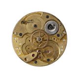 Dismantled clockwork mechanism Stock Photography