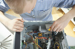 Dismantled computer Royalty Free Stock Images