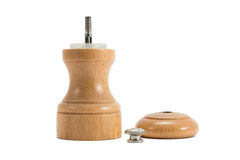 Dismantled pepper mill Stock Image