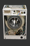 Dismantled washing machine. Stock Image