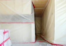 Disminución del asbesto imagen de archivo libre de regalías