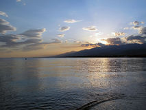 Disminución en el lago Issyk Kul Imagen de archivo