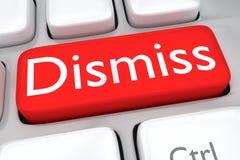 Dismiss - employment concept Royalty Free Stock Photos