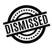 Dismissed rubber stamp. Grunge design with dust scratches. Effects can be easily removed for a clean, crisp look. Color is easily changed Royalty Free Stock Photography