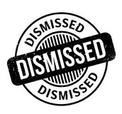 Dismissed rubber stamp. Grunge design with dust scratches. Effects can be easily removed for a clean, crisp look. Color is easily changed Royalty Free Stock Photo