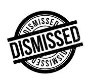 Dismissed rubber stamp. Grunge design with dust scratches. Effects can be easily removed for a clean, crisp look. Color is easily changed Royalty Free Stock Images