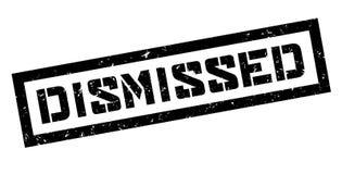 Dismissed rubber stamp Stock Photo