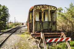Dismissed train Stock Images
