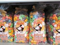 Сумка попкорна главной улицы DisneyСтоковые Изображения RF