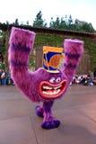 从Disney的Monsters, Inc.的字符。 免版税库存照片