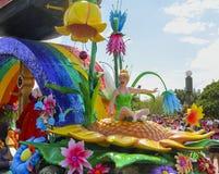 Disney światowa parada Tinkerbell Orlando Floryda fotografia royalty free